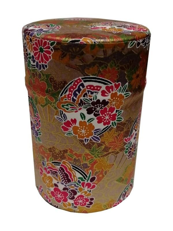 Boite à thé Okinawa Dorée
