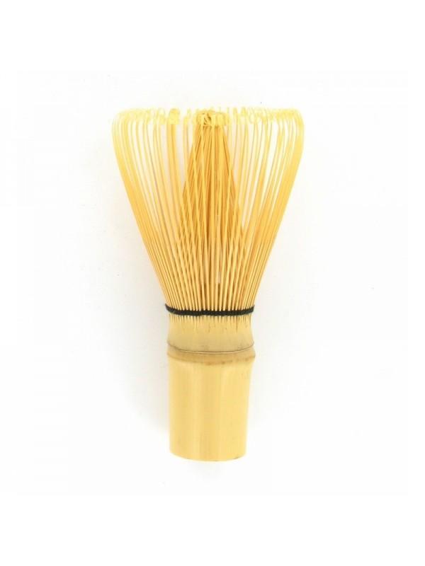 Fouet à Matcha en Bambou