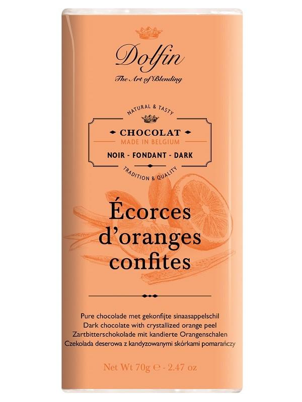 Chocolat Noir aux Ecorces...