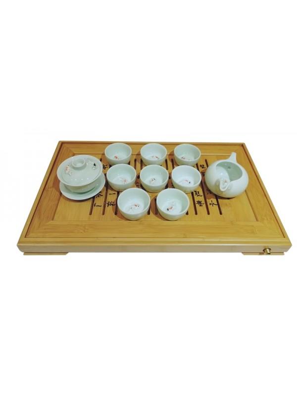Service Gong Fu Cha Carpes