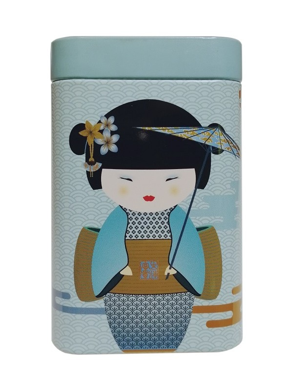 Boite à Thé Geisha Bleue 100g