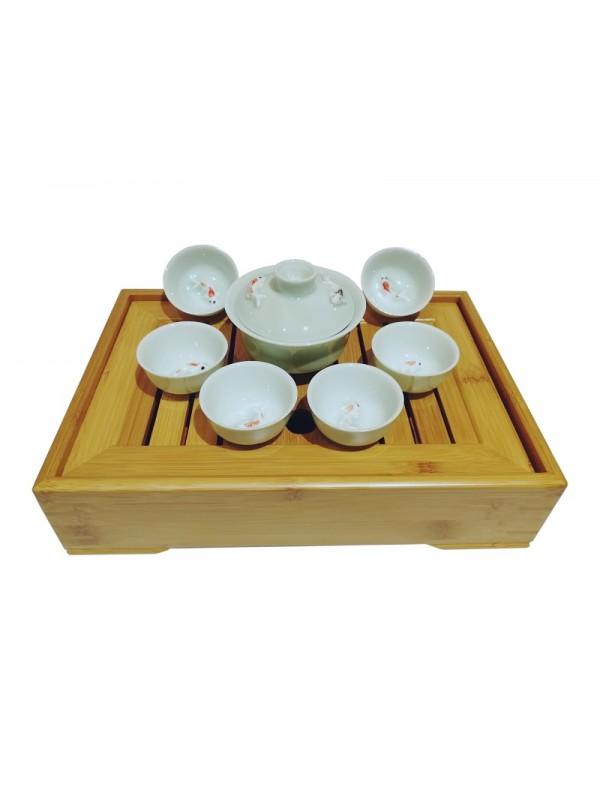Service Gong Fu Cha de voyage