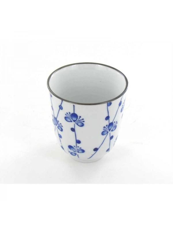 Tasse à Thé Fleurs Bleues